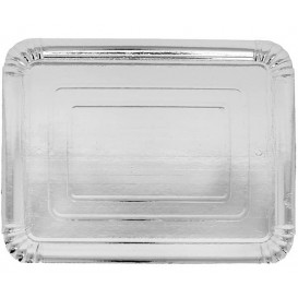 Paper Tray Rectangular shape Silver 16x22 cm (1100 Units)