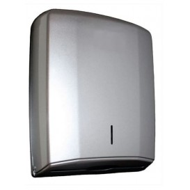Plastic Paper Towel Dispenser ABS Elegance Silver (1 Unit)