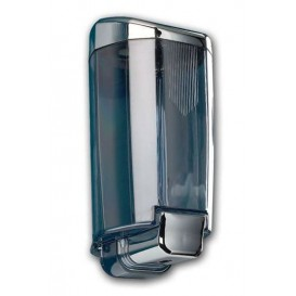 Plastic Soap Dispenser ABS Smoked Chrome 1000ml (1 Unit)