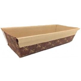 Paper Baking Mold Kraft 16,5x6,5x4,5cm (40 Units)
