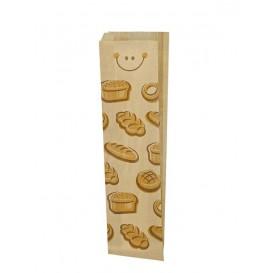 """Paper Food Bag """"Panes"""" 9+5x50cm (125 Units)"""