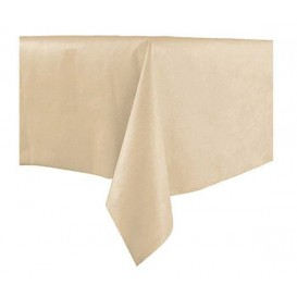 Tablecloth Novotex Non-Woven Cream 100x100cm (150 Units)
