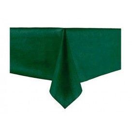 Tablecloth Novotex Non-Woven Green 100x100cm (150 Units)