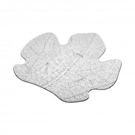 Tasting Plastic Plate PS Flat Clear 8x6,6 cm (25 Units)
