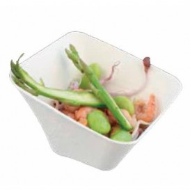 Sugarcane Mini Bowl Square Shape White 90ml (600 Units)
