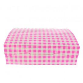 Paper Bakery Box Pink 18,2x13,6x5,2cm 500g (250 Units)