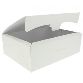 Paper Bakery Box White 25,8x18,9x8cm 2Kg (125 Units)
