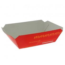 Paper Food Boat Tray 250ml 9,6x6,5x4,2cm (1000 Units)