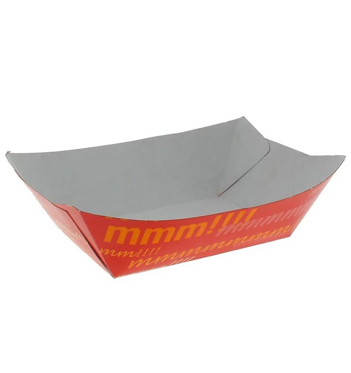 Paper Food Boat Tray 350ml 10,6x7,3x4,5cm (1000 Units)