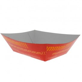 Paper Food Boat Tray 525ml 12,1x8,1x5,5cm (25 Units)