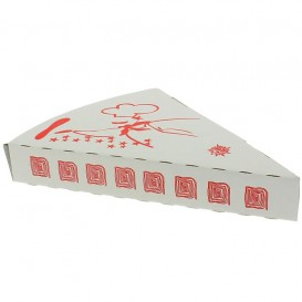 Corrugated Pizza Slice Box Takeaway (350 Units)