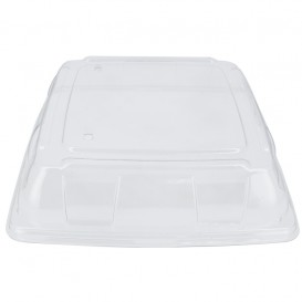 Plastic Lid PET Clear 31x31cm (5 Units)