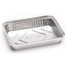 Foil Pan 1000ml 23x17,5x3,4cm (125 Units)