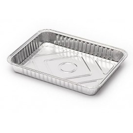 Foil Pan 835ml 22,6x17,5cm (100 Units)