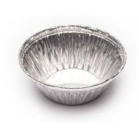 Foil Pan Pastry Round Shape 25ml (100 Units)