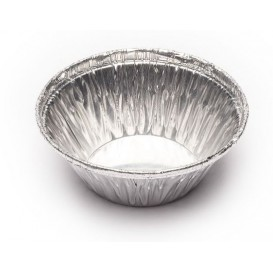 Foil Pan Pastry Round Shape 25ml (5000 Uds)