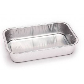 Foil Container Rectangular Shape 330ml (100 Units)