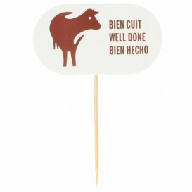 Well Done Food Marker 8 cm (2000 Units)