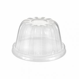 Plastic Dome Lid PS Clear Ø8,9cm (1000 Units)