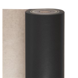Paper Roll of Gift Wrap Kraft Black 100m (1 Unit)