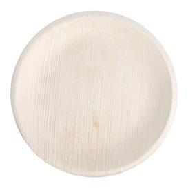 Palm Leaf Plate Round Shape 18 cm (200 Units)