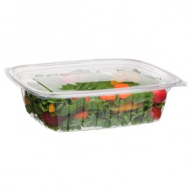 Cornstarch Deli Container with Lid PLA Compostable 710ml (50 Units)
