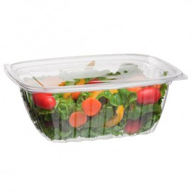Cornstarch Deli Container with Lid PLA Compostable 940ml (50 Units)