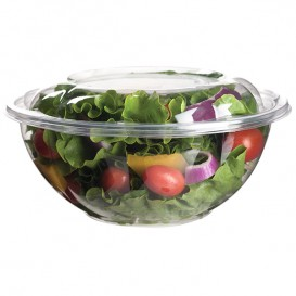 Salad Bowl with Lid PLA 710ml (150 Units)