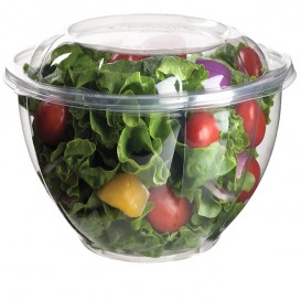 Salad Bowl with Lid PLA 1420ml (50 Units)