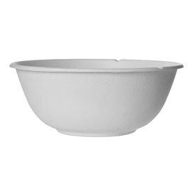 Sugarcane Bowl Bagasse White 1360ml (400 Units)