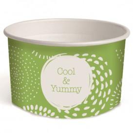 """Paper Ice Cream Container """"Ocean"""" 3oz/100ml (65 Units)"""