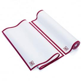"Dishcloth Roll ""Roll Drap"" Edgings Burgundy 40x64cm P40cm (10 Units)"