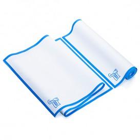 "Dishcloth Roll ""Roll Drap"" Edgings Blue 40x80cm P40cm (160 Units)"