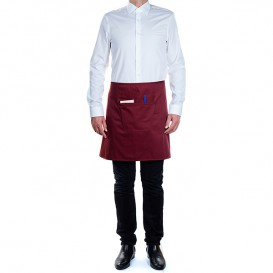 Serving apron pocket Burgundy 75x50cm (20 Uts)