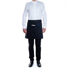 Serving apron pocket Black 75x50cm (1 Unit)