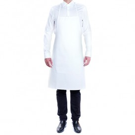 Serving apron bib and pocket Black 75x90cm (1 Unit)