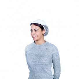 Cap with Mesh and Visor Cotton White (1 Unit)