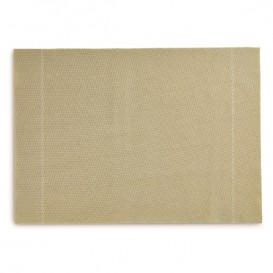 "Cotton Placemat ""Day Drap"" Sand 32x45cm (72 Units)"