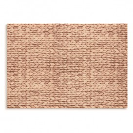 "Cotton Placemat ""Day Drap"" Raffia 32x45cm (72 Units)"