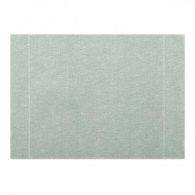 "Cotton Placemat ""Day Drap"" Pearl Gray 32x45cm (12 Units)"