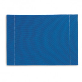 "Cotton Placemat ""Day Drap"" Royal Blue 32x45cm (72 Units)"