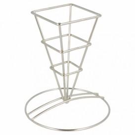 Serving Basket Containers Steel 6,4x13,3cm (1 Unit)