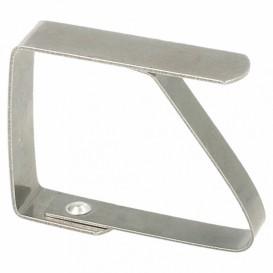 Metal Tablecloth Holder (4 Units)