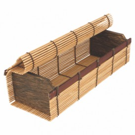 Bamboo Sushi Container 23x8x6cm (24 Units)