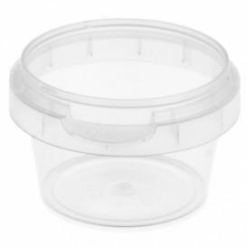 Plastic Deli Container Tamper-Evident PP 30ml Ø4,8cm (40 Units)