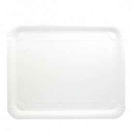 Paper Tray Rectangular shape White 31x38 cm (50 Units)
