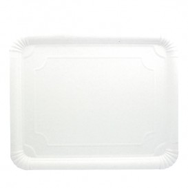 Paper Tray Rectangular shape White 31x38 cm (200 Units)