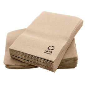 """Paper Napkins Eco """"Recycled"""" 17x17cm (14000 Units)"""