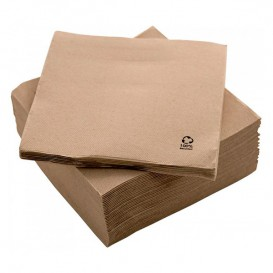 "Paper Napkin Eco ""Recycled"" 20x20cm 2C P-P (100 Units)"