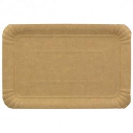 Paper Tray Rectangular shape Kraft 16x22 cm (1400 Units)
